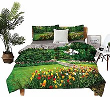 DRAGON VINES double bed Home textile Garden with