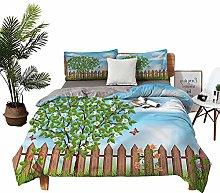 DRAGON VINES double bed Home textile Landscape