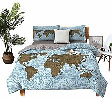 DRAGON VINES double bed Home textile Map with