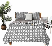 DRAGON VINES double bed Home textile Rings with