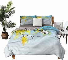 DRAGON VINES double bed Home textile Tree Branch