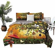 DRAGON VINES double bed Home textile Wonderland
