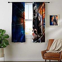DRAGON VINES Energy saving rod type pocket curtain
