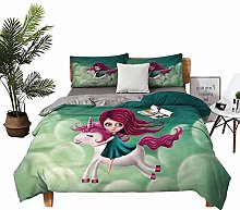DRAGON VINES Home Textile Series bedding Girl with