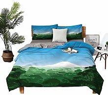 DRAGON VINES Home Textile Series bedding Mountain