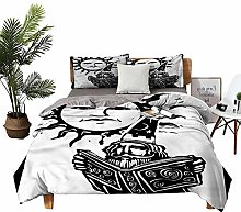 DRAGON VINES Home Textile Series bedding Wizard