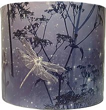 Dragonfly Lampshade for Ceiling Light Shade Purple
