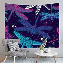 Dragonfly Tapestry Wall Hanging Sandy Beach Picnic