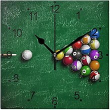 DragonSwordlinsu COOSUN Billiard Balls Wall Clock