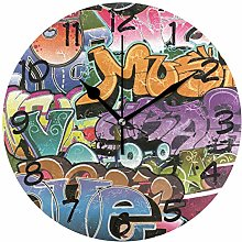 DragonSwordlinsu COOSUN Graffiti Design Wall Clock