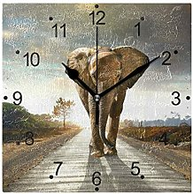 DragonSwordlinsu LORVIES Elephant Walking Wall
