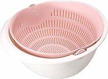 Drain Basket Kitchen Rice Sieve Foldable Food