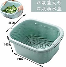 Drain Basket Kitchen Wash Basket Wash Fruit Basket
