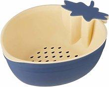 Drain Basket, Plastic Drain Basket, Double Layer