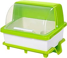Drain basket Plastic kitchen cupboard With lid to