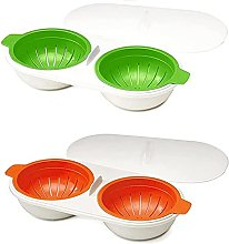 Drainage Egg Cooker, Microwave Oven Egg Cooker,