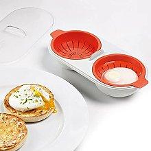 Draining Egg Boiler -Egg Poacher Microwave Cup