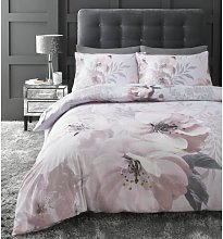 Dramatic Floral Duvet Cover Set Catherine Lansfield
