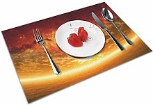 Dramatic Sunset Insulation Heat Resistant Table