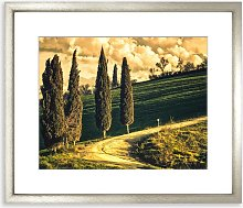 Dramatic Tuscany Framed Print & Mount, 58 x 73cm,