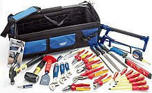 Draper 04319 Electricians Tote Bag Tool Ki