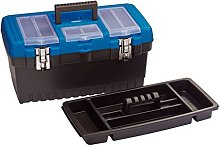 Draper 53880 Tool Organiser Box with Tote Tray,