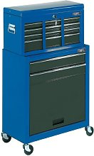 Draper 78229 Combined 2-Drawer Roller Cabinet and