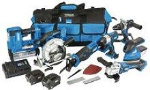 Draper 90473 D20 20V Jumbo Kit 7pcs with 2x