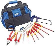 Draper DRA53010 Electricians Tool Kit 1, Blue