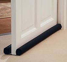 Draught EXCLUDER Under Doors Adjustable Two Sided
