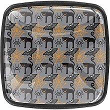 Drawer Cabinet Knobs Wardrobe 4pcs Door Handle