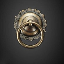 Drawer Handle Chinese Single Hole Pure Copper