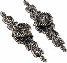Drawer Handle Knobs 2Pcs Knobs Antique Bronze