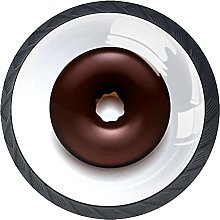 Drawer Knobs Chocolate Donut Cabinet Drawer Pulls