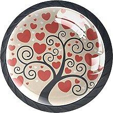 Drawer Knobs Handles Door Cabinet Knobs Love Tree