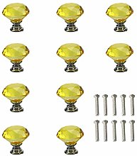 Drawer knobs Kitchen Draw,Transparent Crystal