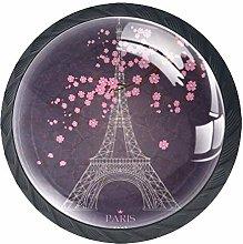Drawer Knobs Sakura Eiffel Tower Door Drawer Pull