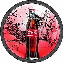 Drawer Knobs Set of 4 Coca Cola Bottle Cabinet