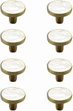 Drawer knobs,Shell Handle Gold zinc Alloy Small