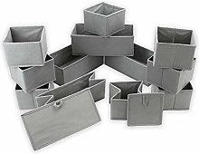 Drawer Organisers | Foldable Fabric Storage Boxes