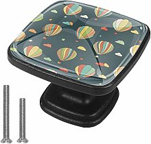Drawer Pull Handle with Screws Colorful hot air