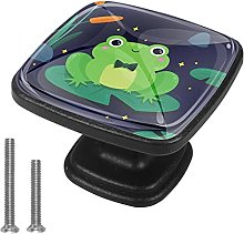 Drawer Pull Handle with Screws Frog DIY Square