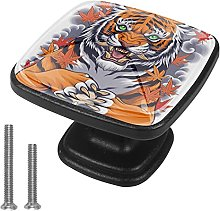 Drawer Pull Handle with Screws Tiger DIY Square