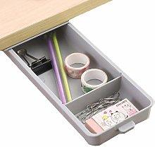 Drawer Under Desk Gray Under Table Storage Drawer