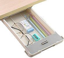 Drawer Under Desk Storage Gray Hidden Storage