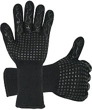 DRcore 932ºF Barbeque Oven Gloves, Heat Resistant