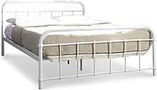 Dream Warehouse Henley Hospital Metal Double Bed
