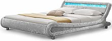 Dream Warehouse Madrid LED Double Bed - Crushed