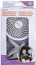 Dreambaby Dreambaby® Clip-On Caged Fan White With