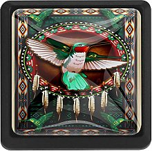 Dreamcatcher and Hummingbird, 3 Pcs Crystal Class